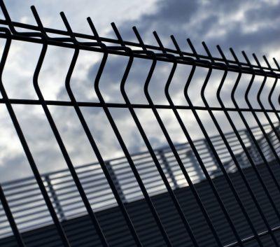 Fences of a prison
